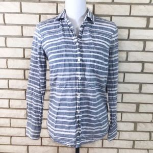 Crew Button Down The Perfect Shirt Blue